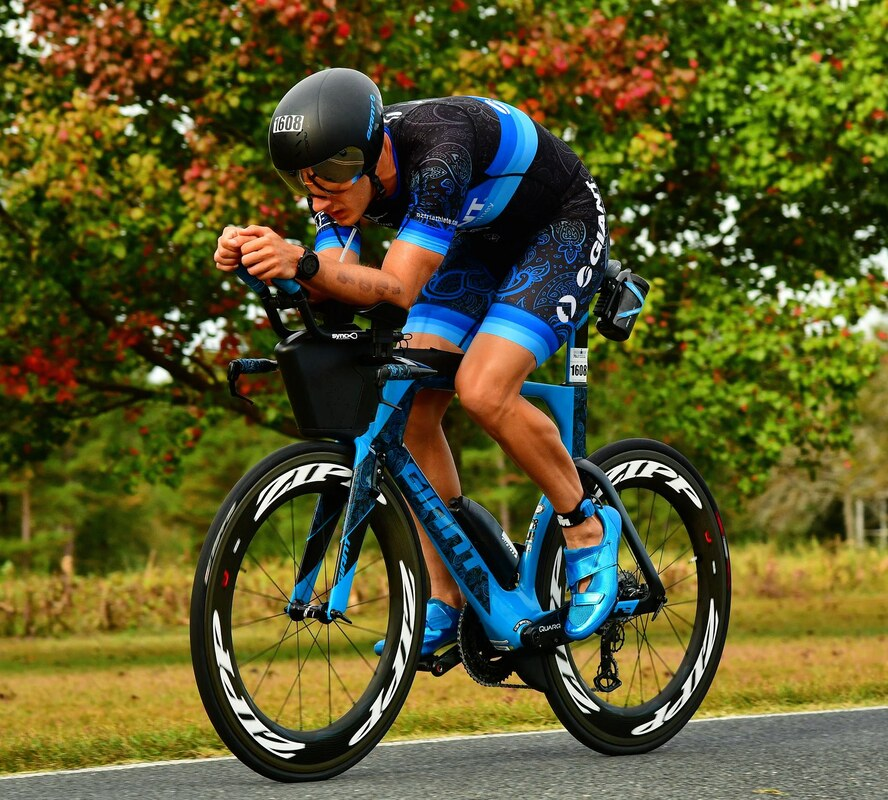 Triathlon Bike Position